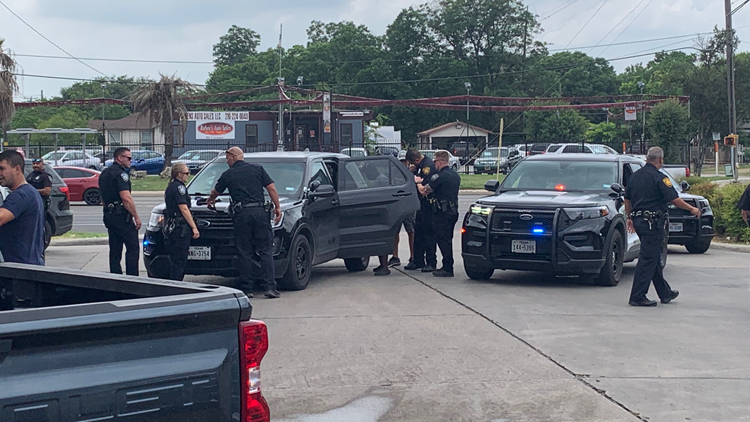 Driver in custody after police pursue her for hours across southwest San Antonio