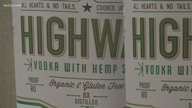 Highway Distillery's hemp-based vodka is available at San Antonio store | Here's what makes it so special