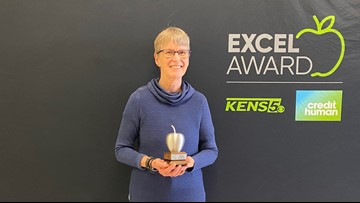 Lackland ISD teacher wins KENS 5 Credit Human EXCEL award