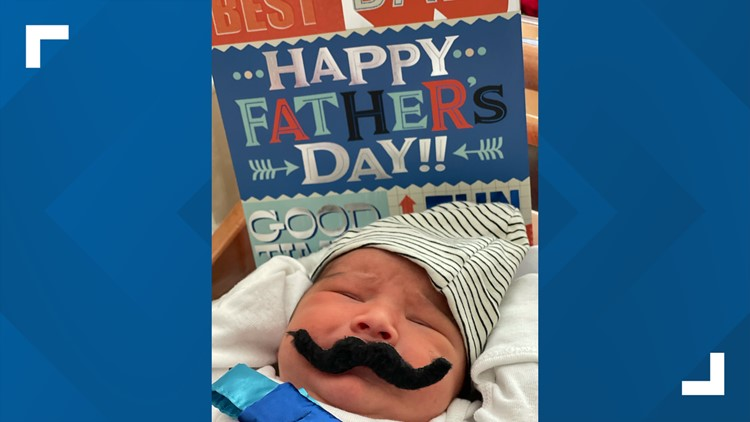 Babies at Northeast Baptist Hospital dressed as 'Father's Day surprises' 👶