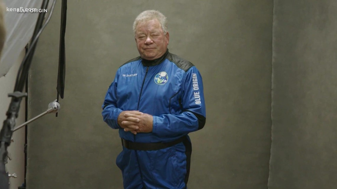 Captain Kirk himself, William Shatner, becomes oldest person to go to space