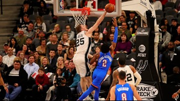 SPURS GAMEDAY: Silver and Black play Thunder in final game before All-Star break