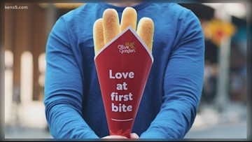 Forget the roses! Olive Garden releases Bread Bouquet