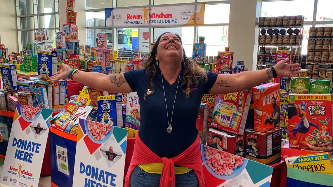'He left a legacy' | Rowan Windham Cereal Drive raises quarter-million breakfasts for food-challenged kids