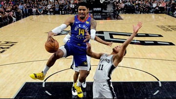 GAME BLOG: Spurs' D falters in Game 4, series tied 2-2 after 117-103 loss