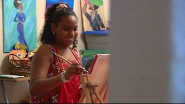 Sixth grader expresses the art of giving | Kids Who Make SA Great