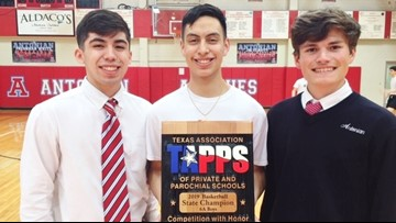 Antonian's state champs to be honored at Game 4 of Spurs-Nuggets playoff series Saturday