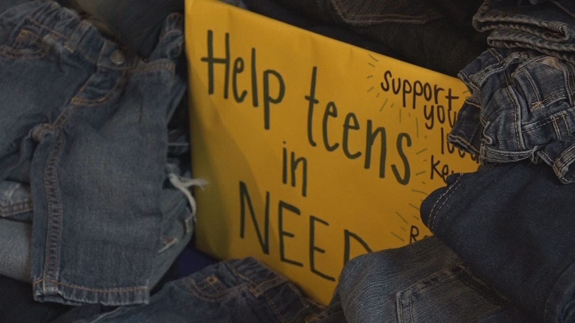 Mission Sa Jeans For Teens Drive At Jbsa Randolph Helps