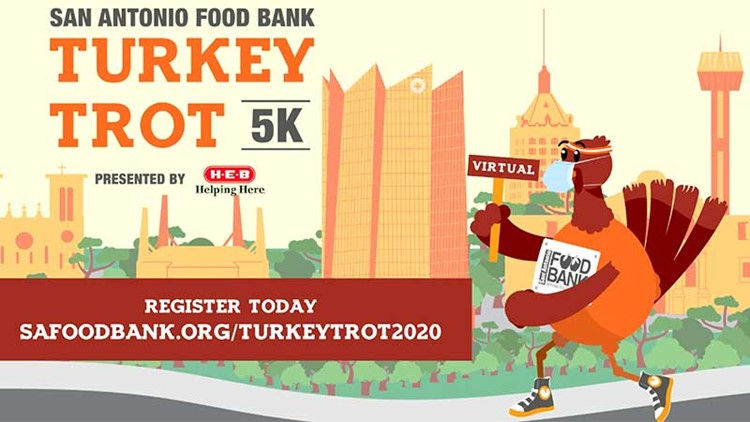 KENS CARES: Join virtual Turkey Trot to help SA Food Bank feed families this Thanksgiving