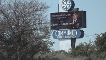 Public gathers to remember Sgt. 1st class Javier Gutierrez