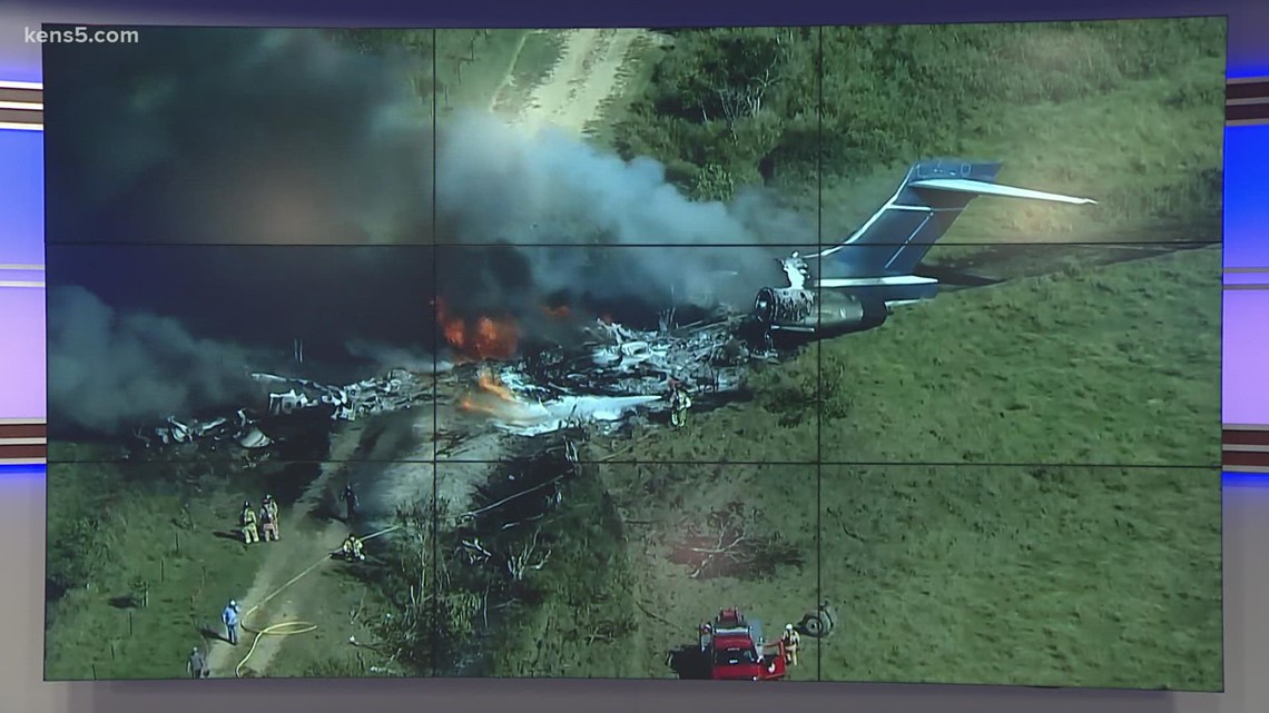 Authorities investigating after plane crashes near Houston; no fatalities reported