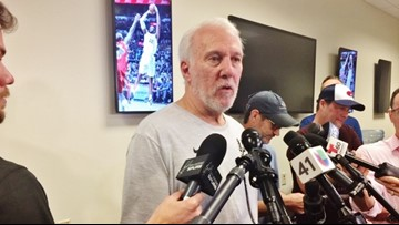 Getting back to 'real world' a rite of spring, early summer for Popovich