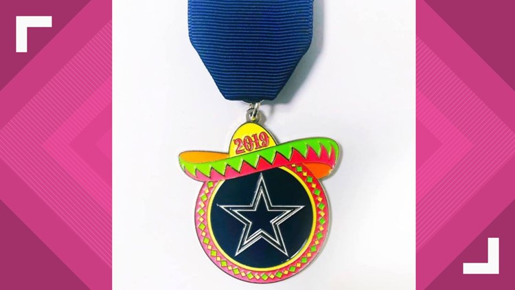 First Official Dallas Cowboys Fiesta Medal Goes On Sale