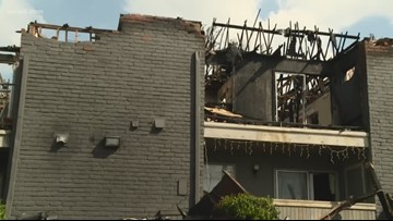 Families escape apartment fire on north side