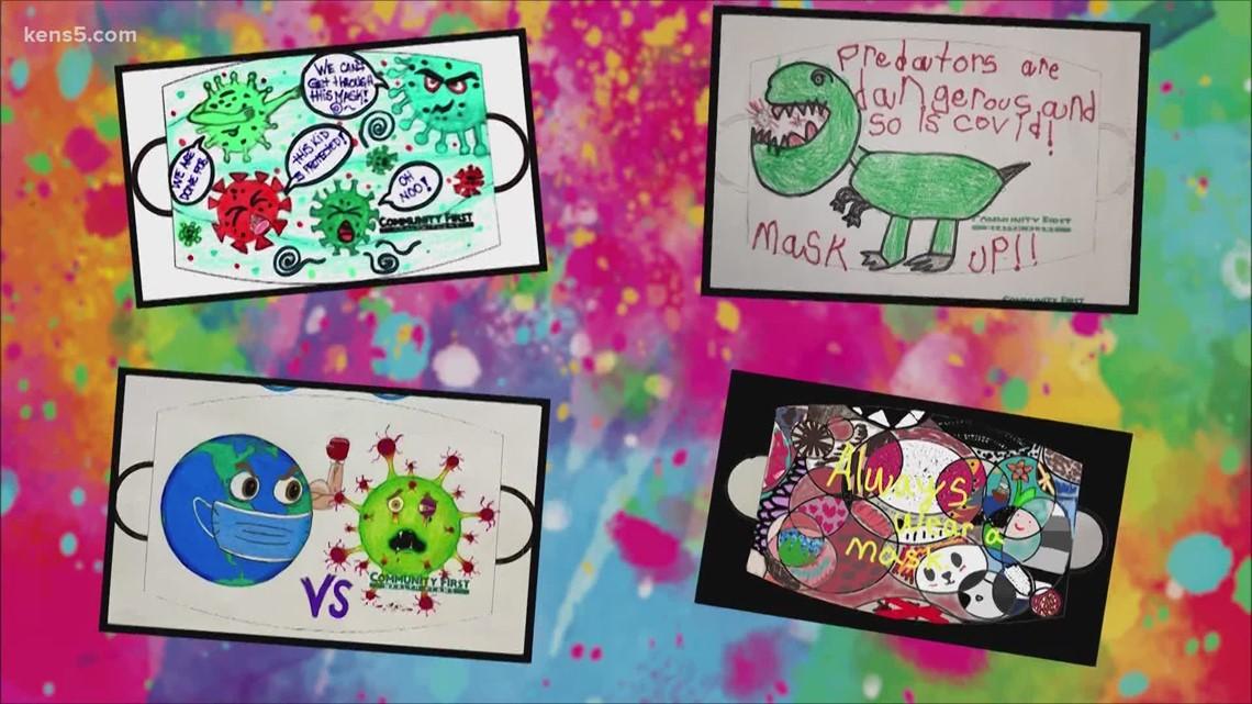 Students ace mask designing challenge | Kids Who Make San Antonio Great