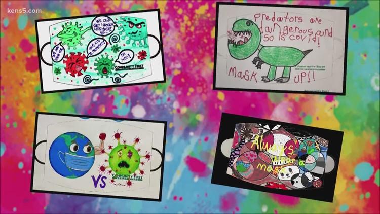 Students ace mask designing challenge   Kids Who Make San Antonio Great