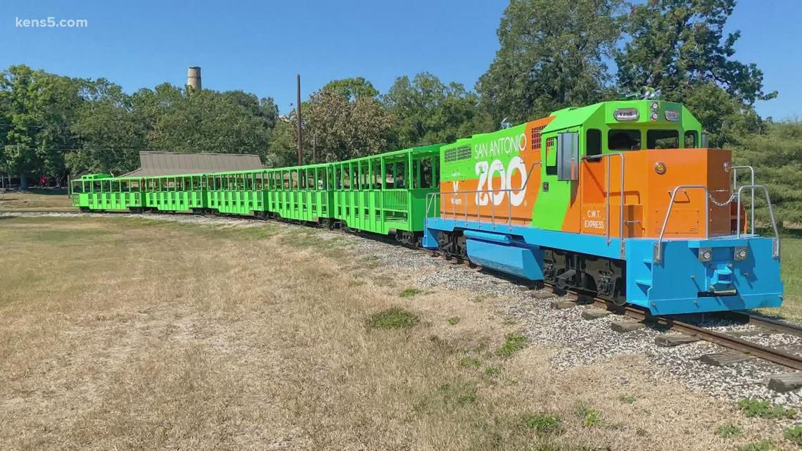 San Antonio Zoo's new train arrives   How you can climb on board