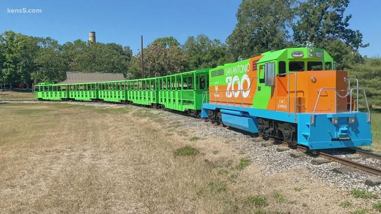 San Antonio Zoo's new train arrives | How you can climb on board