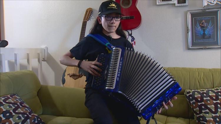 Teen accordionist turning heads   Kids Who Make SA Great