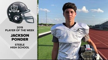 Ponder providing important example at Steele High School | Player of the Week