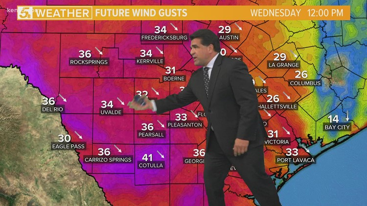 KENS 5 Weather: Morning patchy drizzle then cloudy and warm