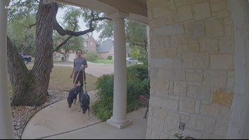 Man trying to find his neighbor caught on Nest doorbell camera performing a good deed