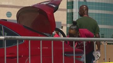 Food bank distributes 300,000 pounds of food to San Antonio families