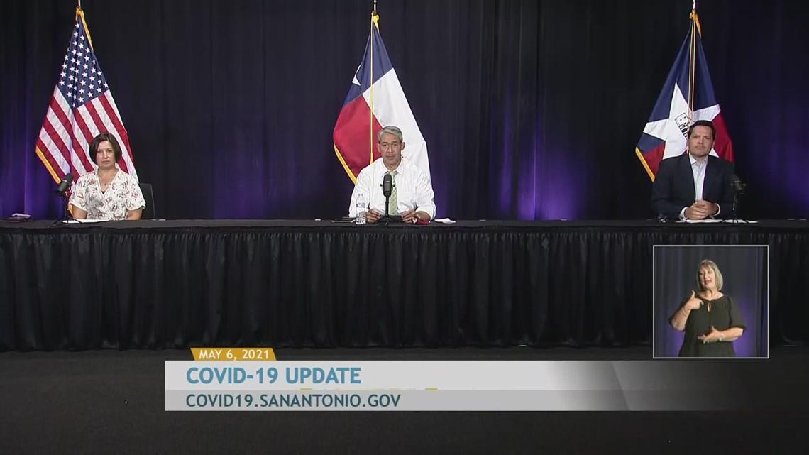 Coronavirus update for San Antonio area: May 6, 2021