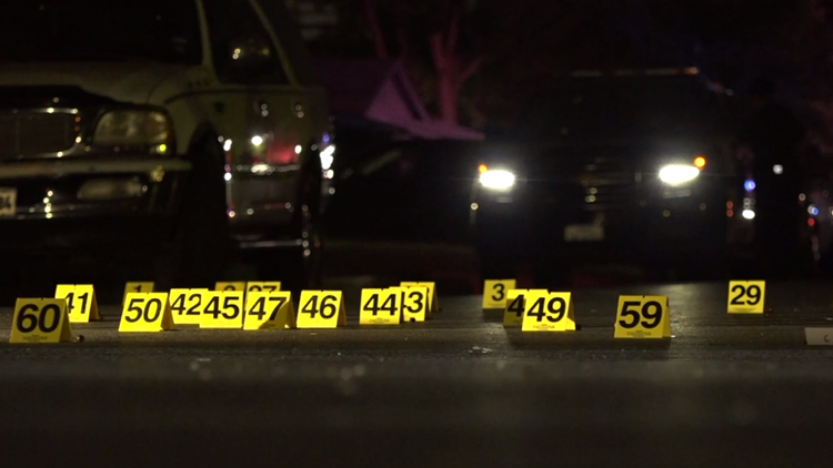 SAPD: Man dies after being shot at over 100 times | kens5.com