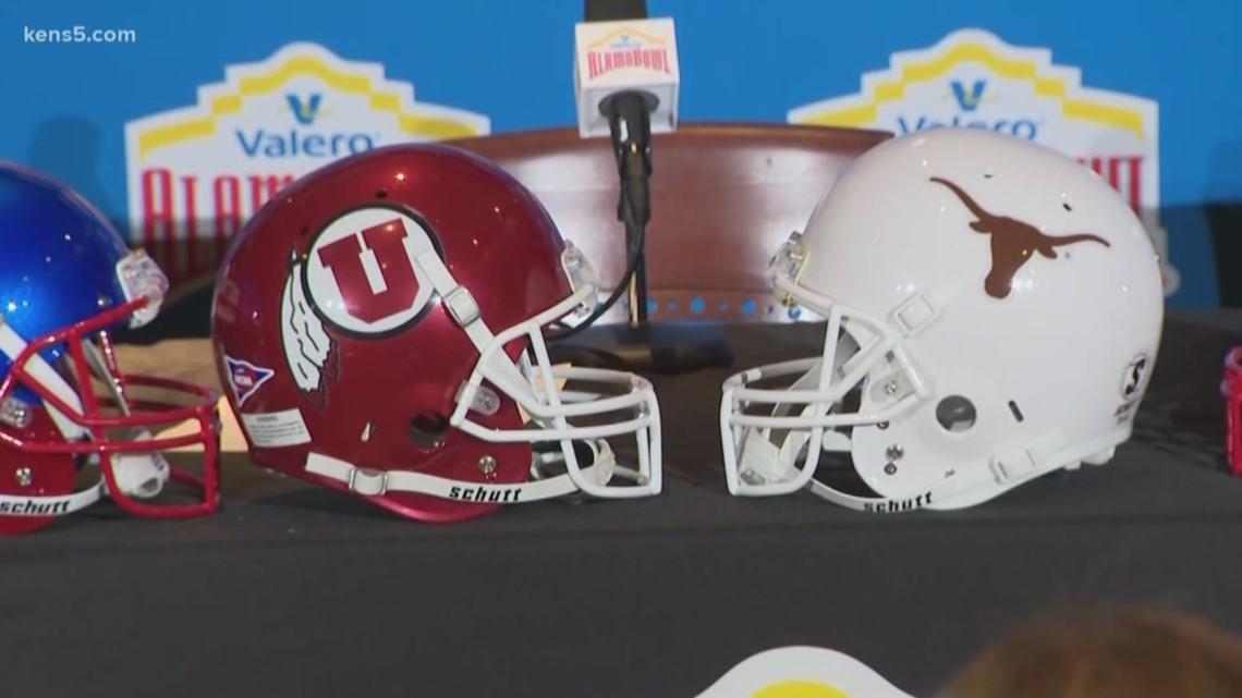 Utah and Texas to meet in 2019 Alamo Bowl