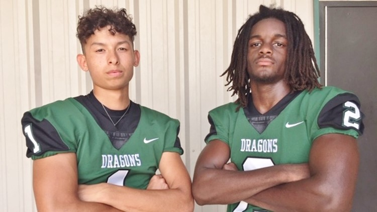 FBH Southwest QB Matt Luna and WR-DB Makhi Johnson