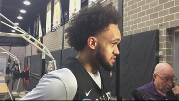 Spurs guard Derrick White on Friday night's game against Sacramento