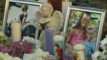 Vigil held days after Andreen McDonald's remains found