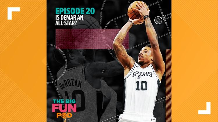 Is DeMar an All-Star? | The Big Fundamental Spurs Podcast