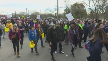 'We just love to see this diversity and union': Thousands gather to reflect on MLK's legacy