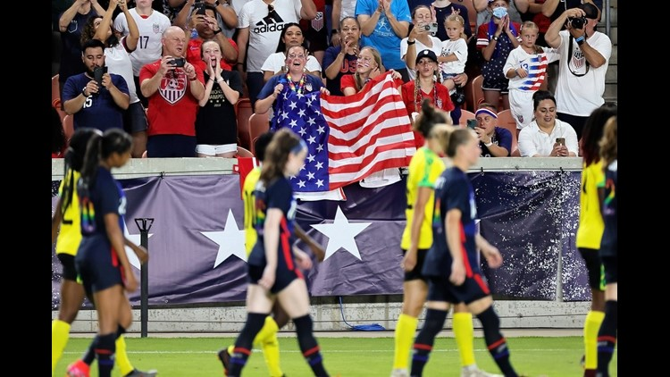 PHOTOS: USA beats Jamaica, Portugal and Nigeria draw in women's international friendly soccer matches