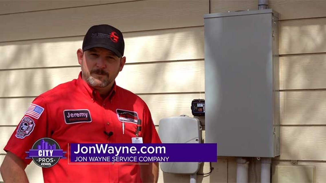 CITY PROS: Jon Wayne provides an electrical tune-up for your home's system