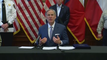 Gov. Abbott expands measure ordering quarantine of some travelers coming to Texas, says release of dangerous felons must stop