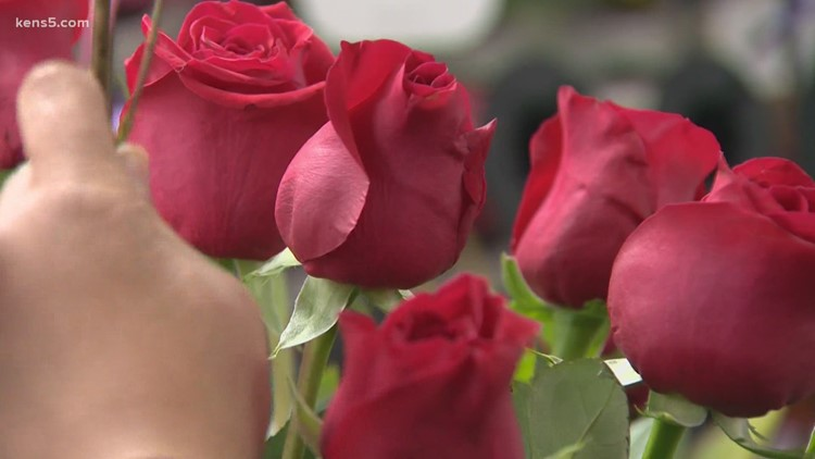 Winter blast could slow Valentine's Day flower and food delivery