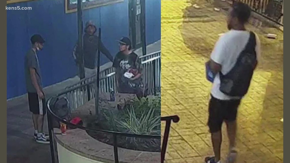 'Fiesta Bandits'   San Antonio police searching for men suspected of stealing from multiple vendors