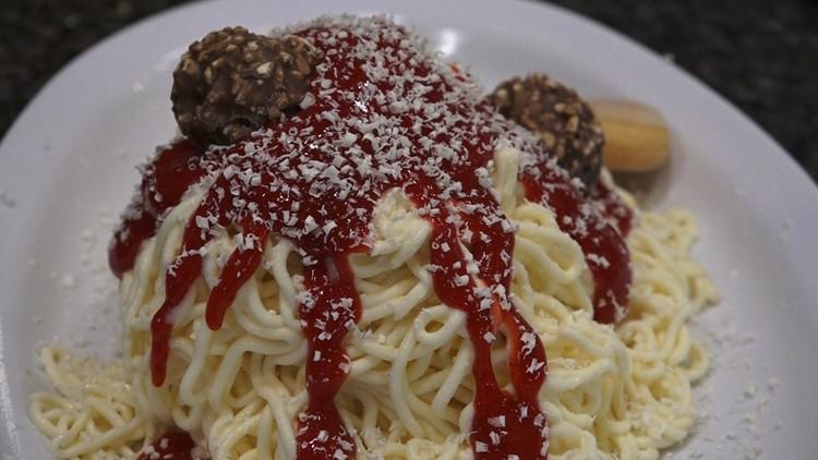 Paciugo spaghetti gelato