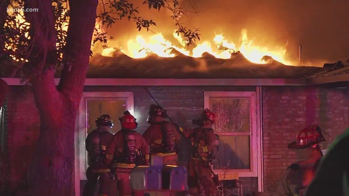 Family of five survives house fire on southwest side, but loses home and beloved pet dog