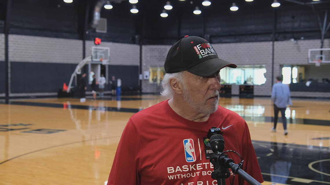 Gregg Popovich speaks about the difficult decision to cut Luka Samanic
