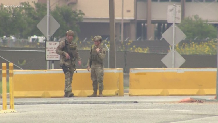 'We have to prepare for anything' | Airman reacts after lockdown ends safely at JBSA-Lackland