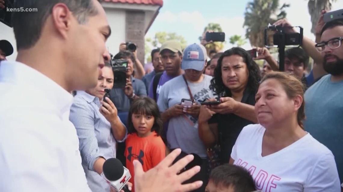 Julian Castro takes his campaign south of the border
