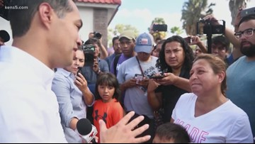 Julian Castro takes his campaign south of the border