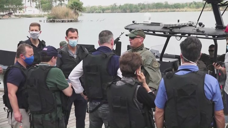 Congressional delegation visits TX-Mexico border