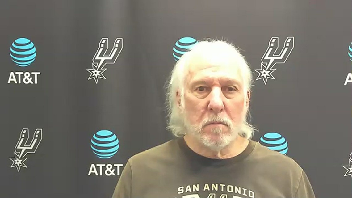 Spurs HC Popovich speaks ahead of bout with Pacers