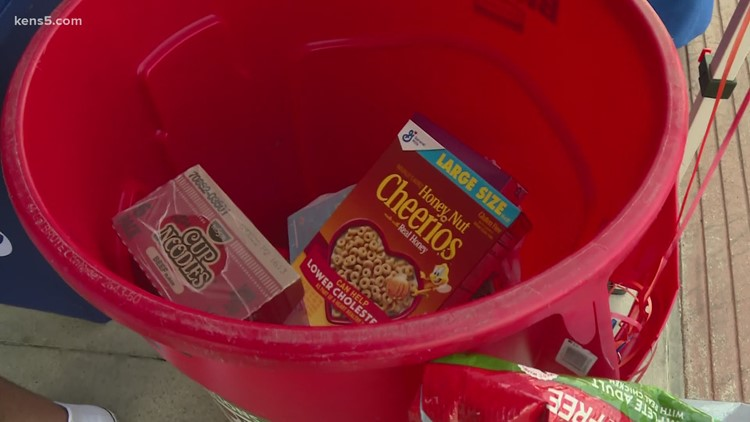 Looking to donate food to those in need? KENS 5 can help