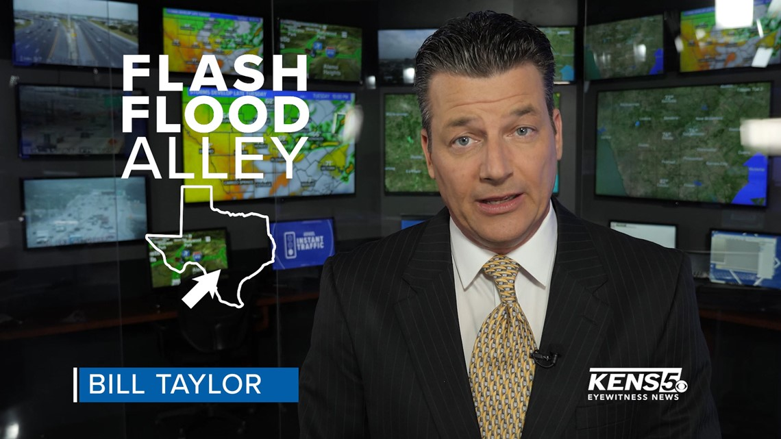 WEATHER MINDS with Bill Taylor: South Texas is Flash Flood Alley